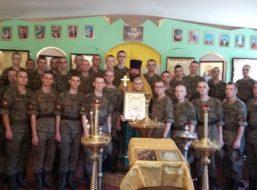 Божественная литургия в день обретения мощей святителя Митрофана в воинском храме города Воронеж-45
