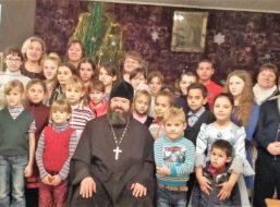 Рождество Христово в селе Губари