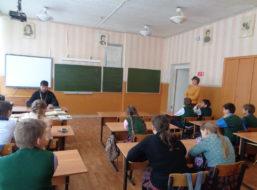 В преддверии Дня православной книги  в Третьяковской сельской школе прошел праздник, посвященный этому событию.