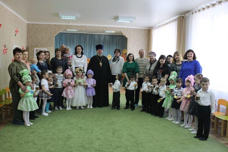 Мероприятие в детском саду, посвященное празднику Пасхи