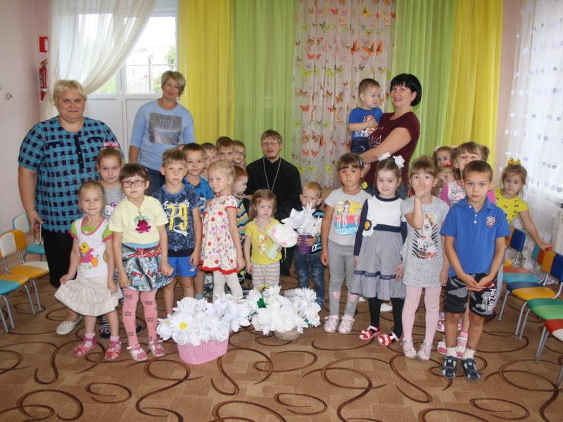 Иерей Геннадий Лимонов посетил детский сад № 7