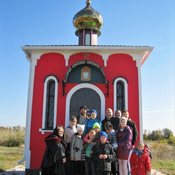 Урок православного краеведения в воскресной группе Никольского храма города Борисоглебска