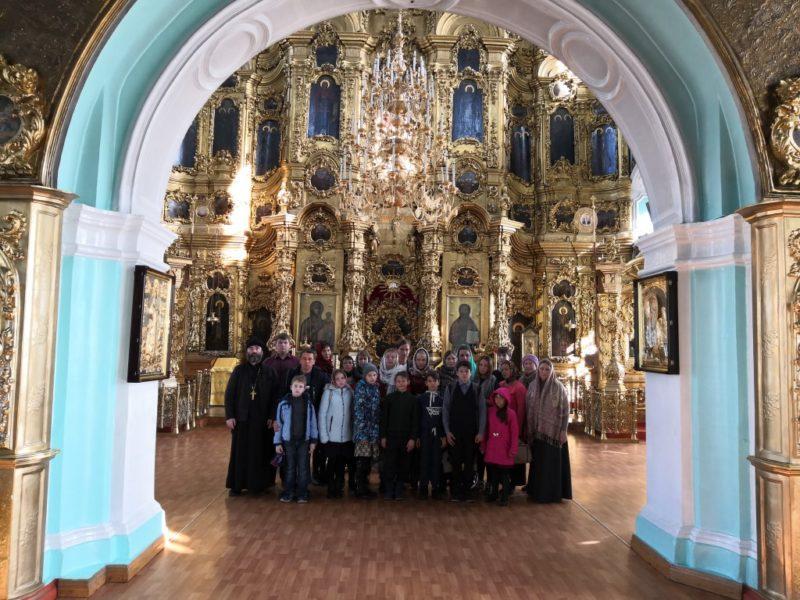 Паломническая поездка в город Курск учеников, педагогов и родителей воскресной школы при храме святых благоверных князей Бориса и Глеба.